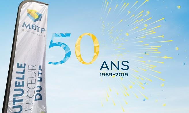MBTP fête 50 ans de confiance mutuelle !