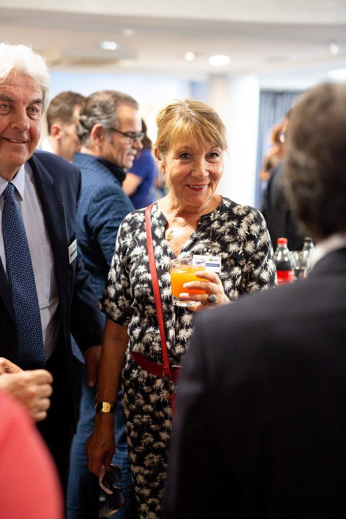 Richard BRUMM -Adjoint au maire de Lyon en charge des finances et de la commande publique et Tati CHARBONNEL