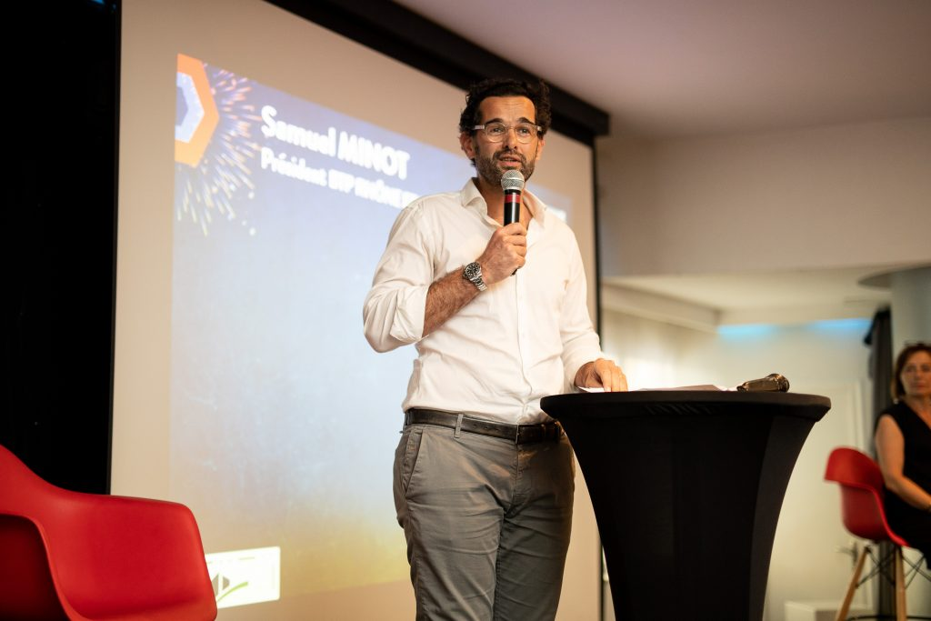 Samuel MINOT, Président BTP Rhône et Métropole