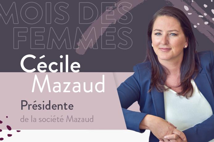2 Photographie de Cécile Mazaud, dirigeante du BTP dans le cadre des interviews des femmes du BTP