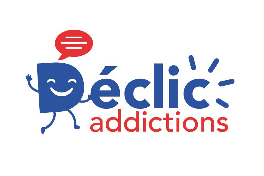 Logo de Déclic Addictions, prévention des addictions en entreprise, dans le cadre de la présentation de notre partenaire la Fondation du BTP