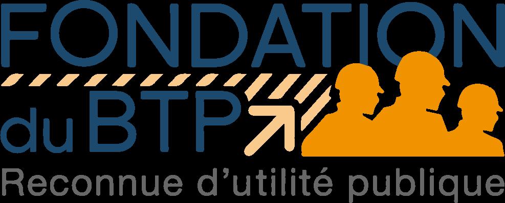 Logo de la Fondation du BTP dans le cadre de nos engagements dans la prévention et nos valeurs pour le secteur du BTP