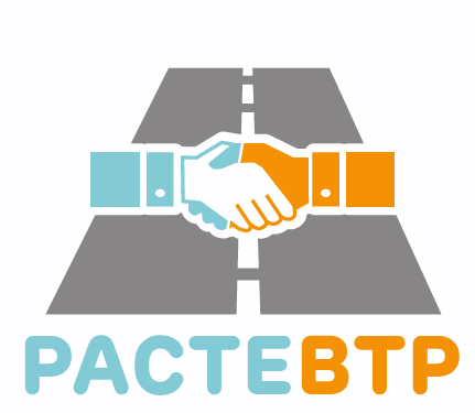Logo de Pacte BTP, la prévention routière en entreprise, dans le cadre de la présentation de notre partenaire la Fondation du BTP